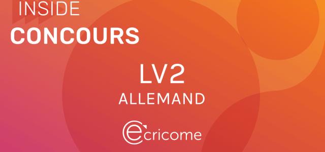 LV2 Allemand Ecricome 2020 – Sujet