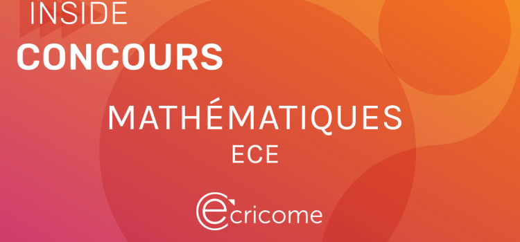 Sujet de maths Ecricome ECE 2020