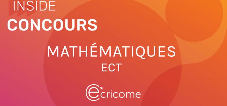 Sujet de maths Ecricome ECT 2020