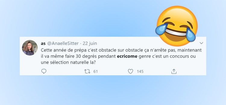 Best of Twitter – Panique à Ecricome 2020