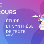 Synthèse de textes ESCP 2020 – Analyse du sujet