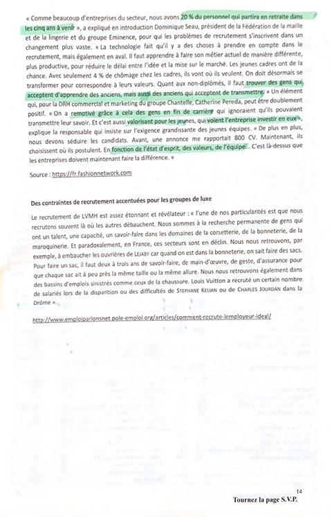 sujet hec management 2020 14