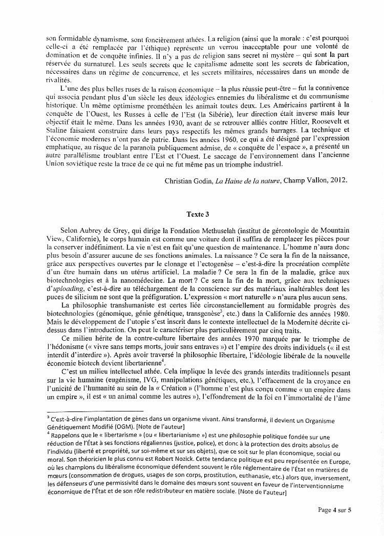 sujet synthèse ESCP 2020 4