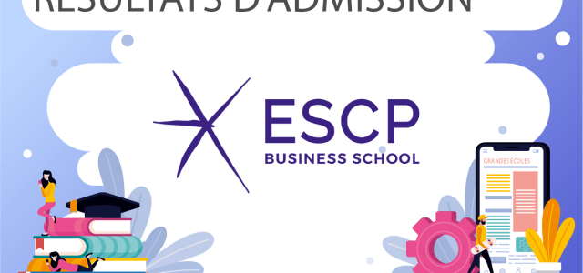 Résultats d'admission ESCP Business School 2020