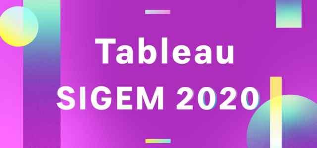Le tableau des résultats SIGEM 2020