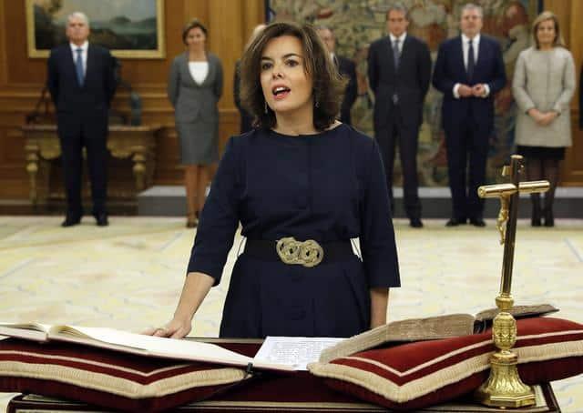 Soraya Sáenz de Santamaria - exemple espagnol prépa