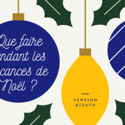 Que faire pendant les vacances de Noël 2020-2021 ? – Version bizuth