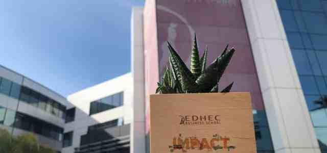 L'EDHEC fait du développement durable une priorité stratégique et pédagogique