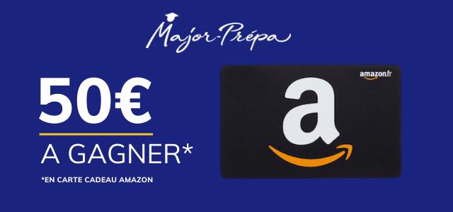 Major-Prépa t'offre 50€ !
