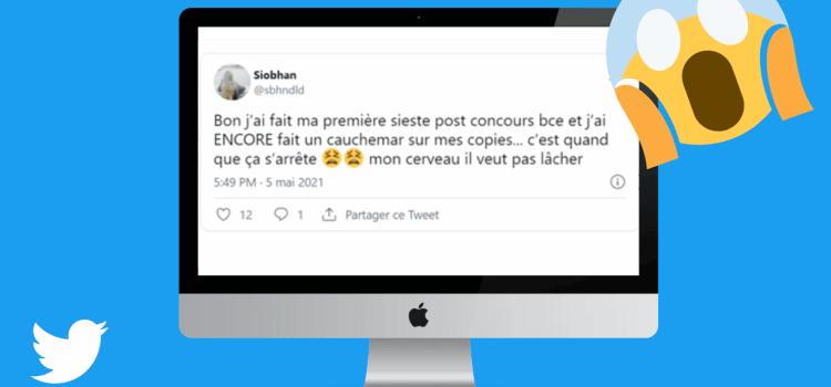 Le TOP du TOP Tweets : Ecricome & BCE 2021