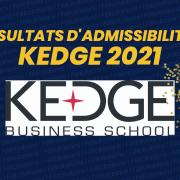 Résultats d'admissibilités Kedge 2021