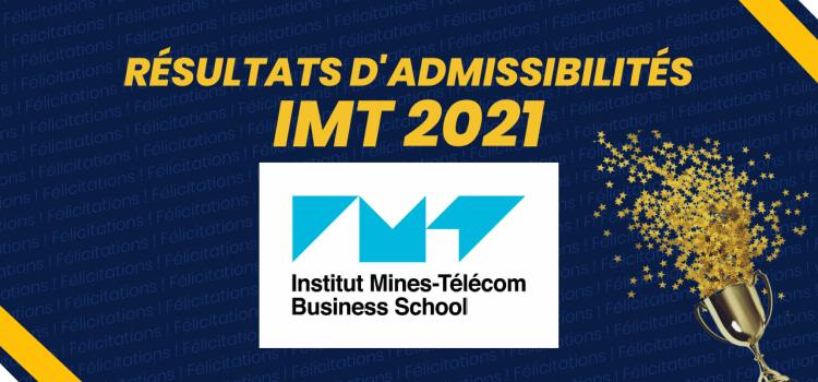 Résultats d'admissibilités IMT BS 2021