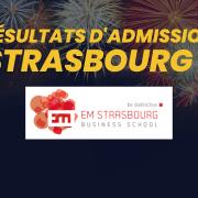 Résultats d'admission EM Strasbourg 2021