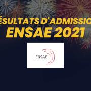 Résultats d'admission ENSAE 2021