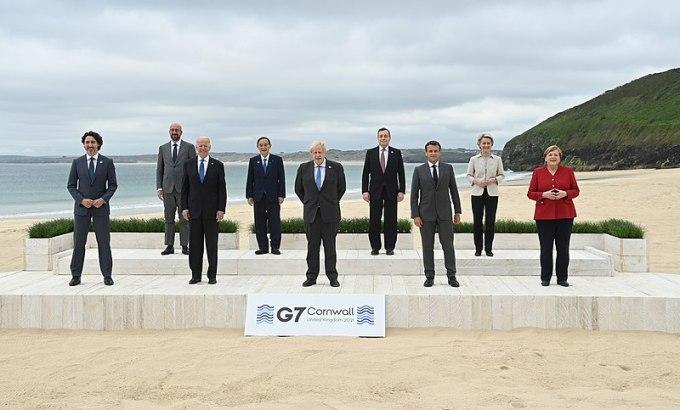 Le week-end dernier s'est tenu le sommet du G7. Où a eu lieu cet événement ?