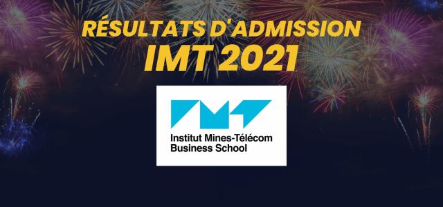 Résultats d'admission IMT-BS 2021