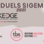KEDGE BS entre dans le Top 10 – Duels SIGEM 2021