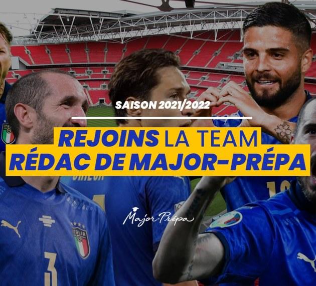 Major-Prépa recrute la team rédacteurs 2021-2022 !