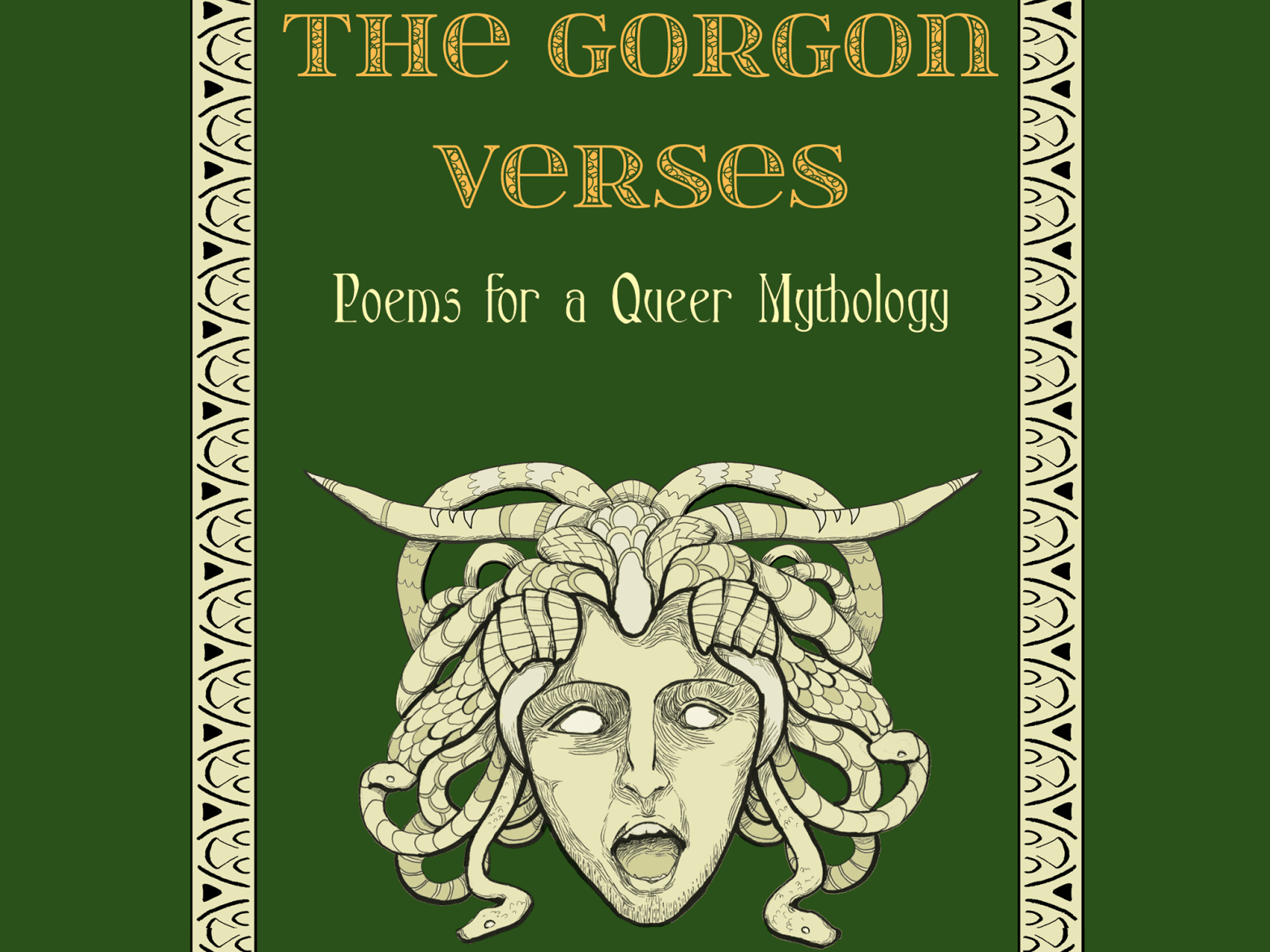 Book cover of The Gorgon Verses: Poems for a Queer Mythology