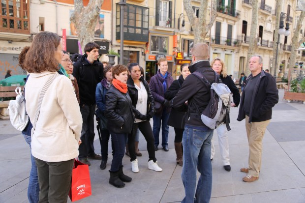 A free guided tour of Palma is included in the event.