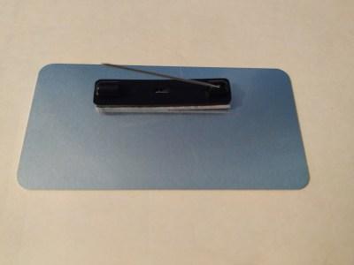 Back Of Badge Standard Pin