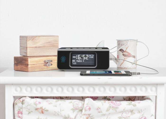 Majority Abbey BT Bedside Radio