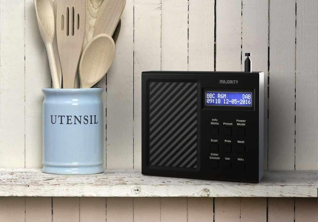 Majority Arbury II Portable DAB Radio