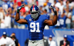 NFL: Tampa Bay Buccaneers at New York Giants