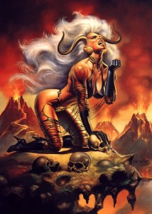 Boris Vallejo - Lady Demon