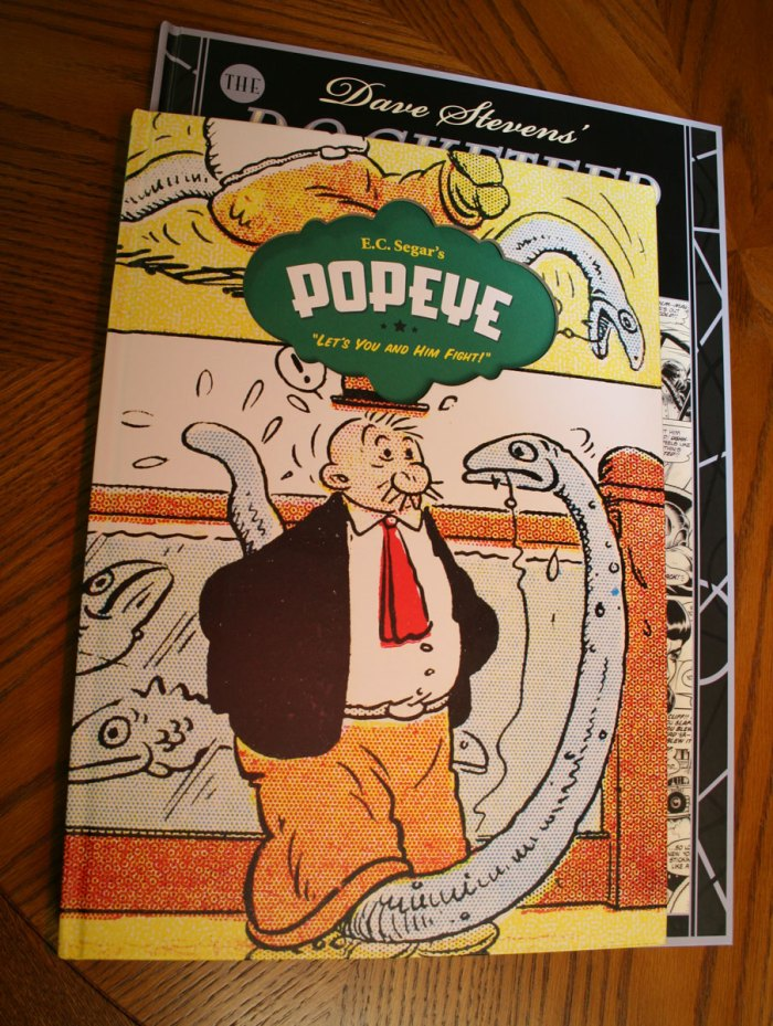 ...and even makes Fantagraphics Popeye volume look small.
