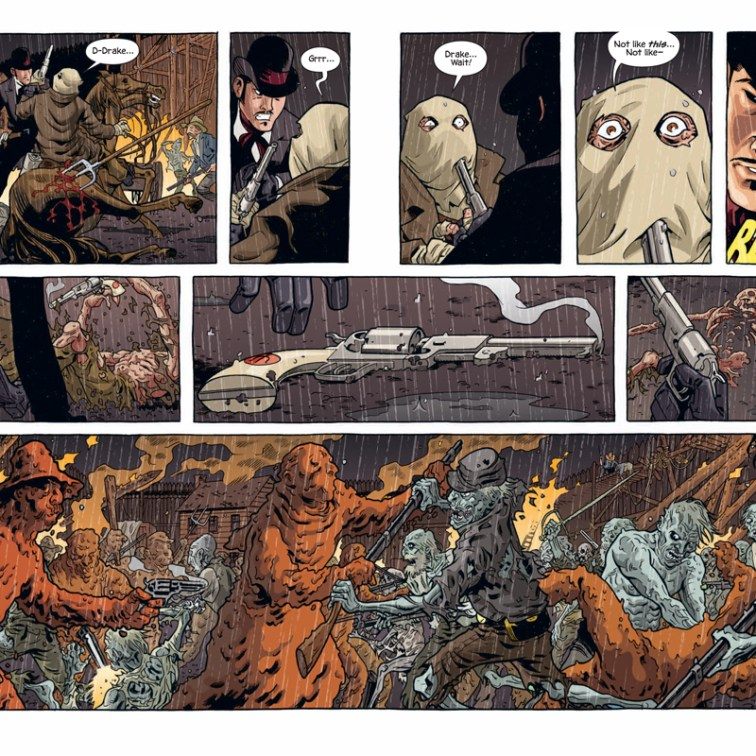 SIXTH GUN #6 PREVIEW PG 8-9