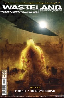 Wasteland #31 Preview Cover
