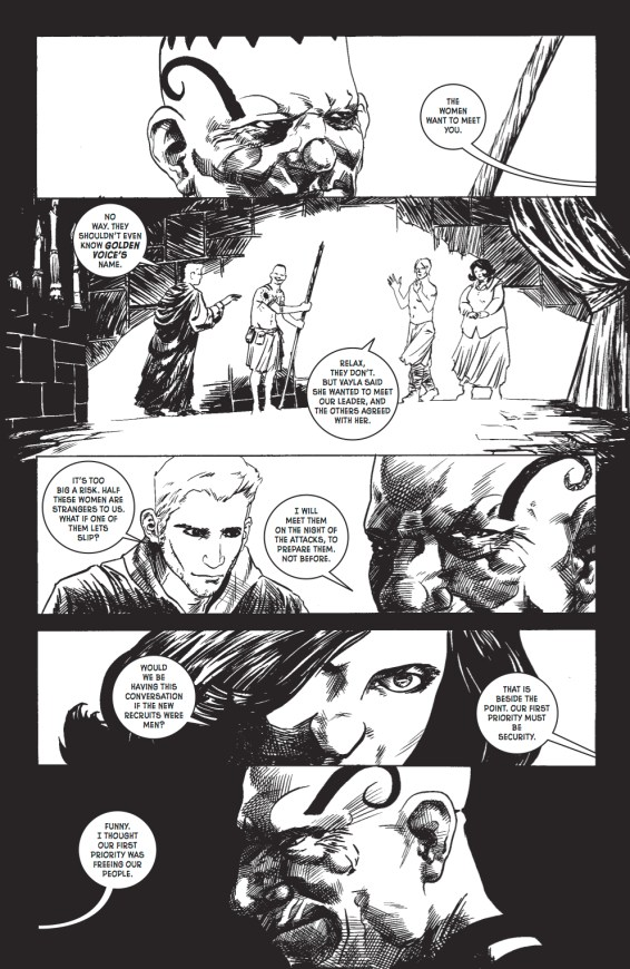 Wasteland #31 Preview pg 5
