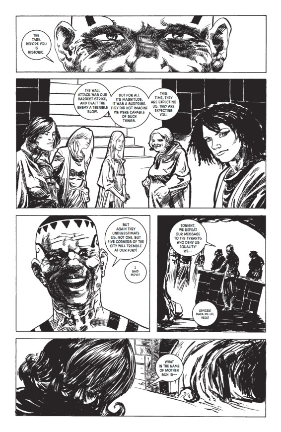 Wasteland #31 Preview pg 6