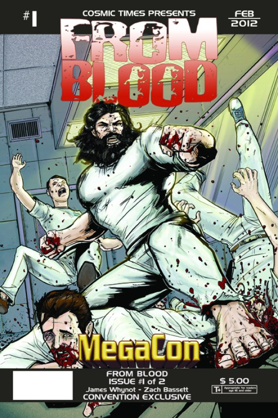 From_Blood_Issue_1_MegaCon_Cover