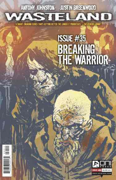 WASTELAND #35 COVER