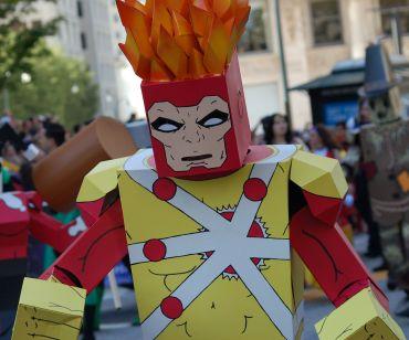 2012 Parade Cardboard Firestorm