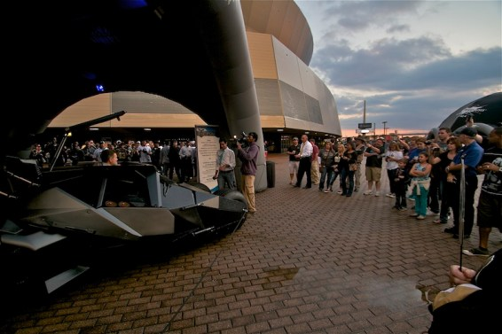 Batmobile Tour draws crowd at Superdome in New Orleans