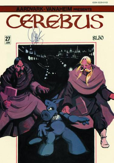 Cerebus High Society 2