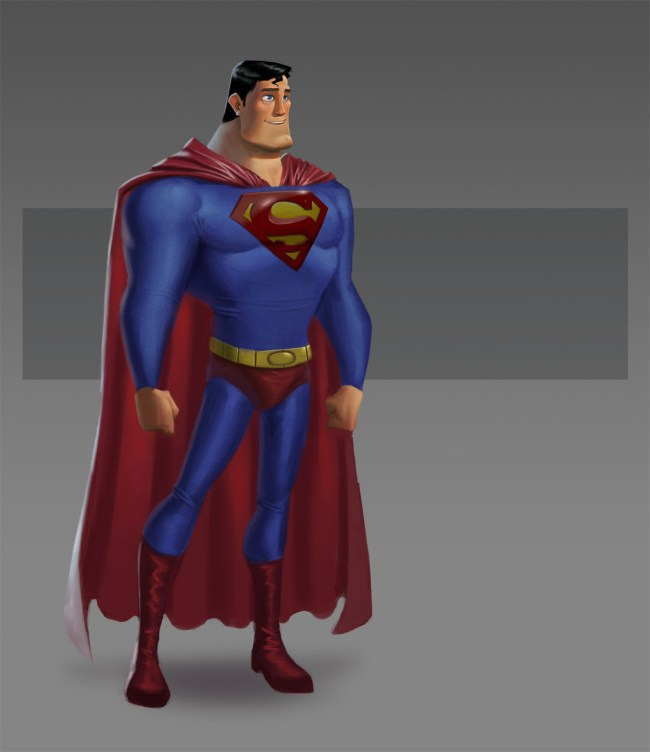 Pixar Superman