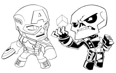 Cap-Red SKull