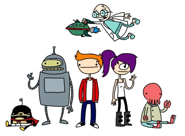 Futurama people