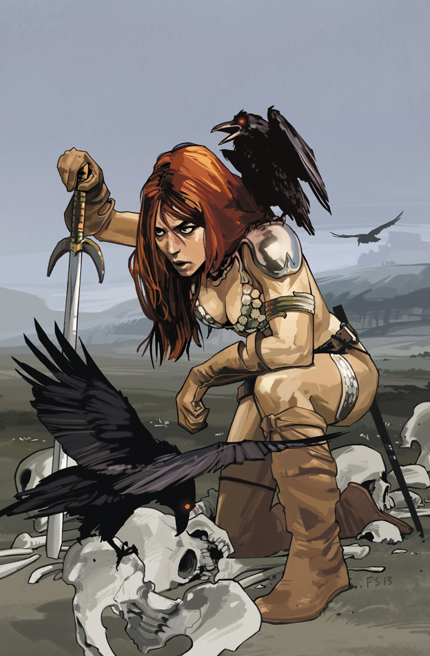 Red Sonja - Fiona Staples