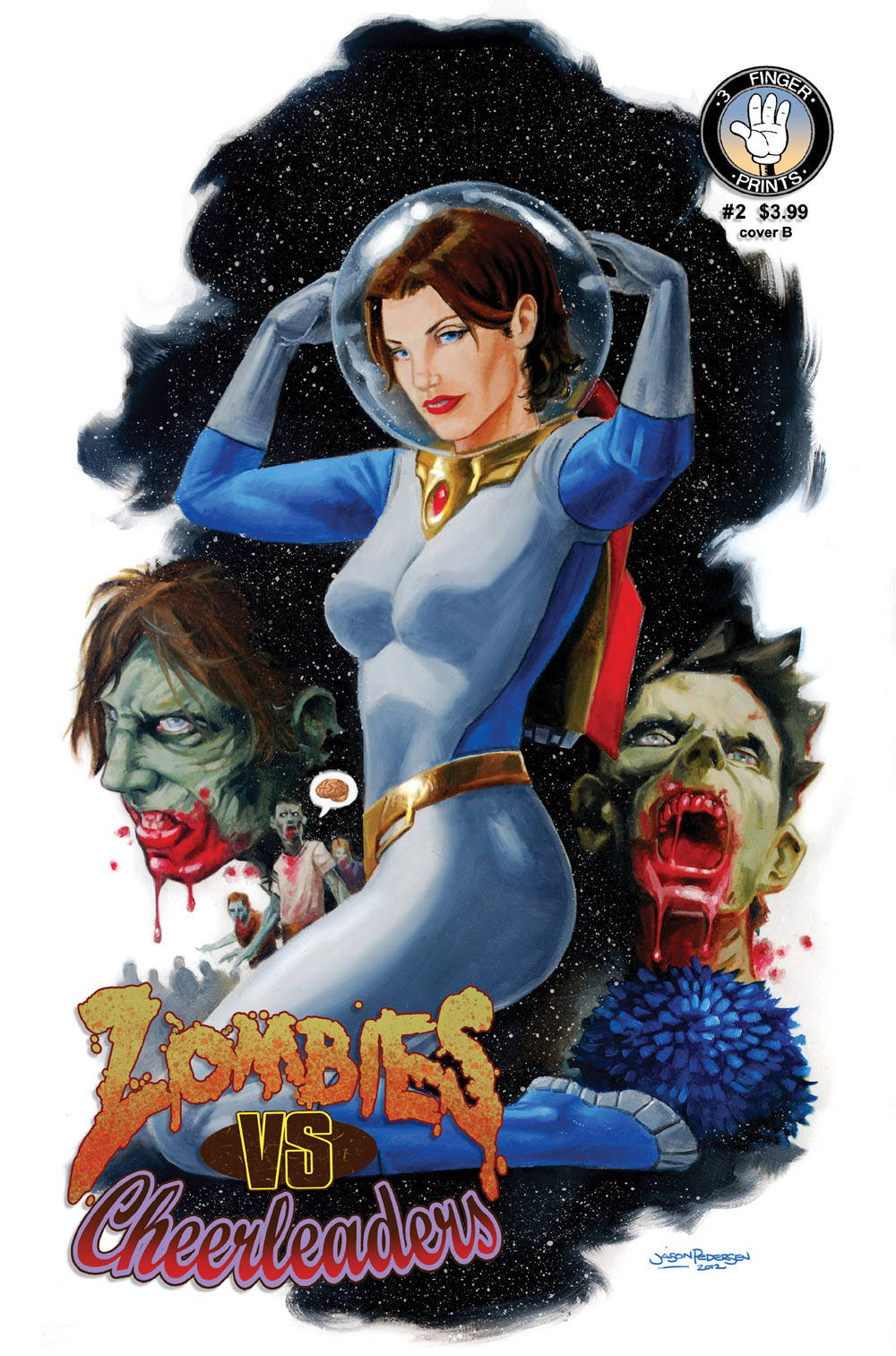 SOLICITATIONS: Zombies vs. Cheerleaders for May 2013