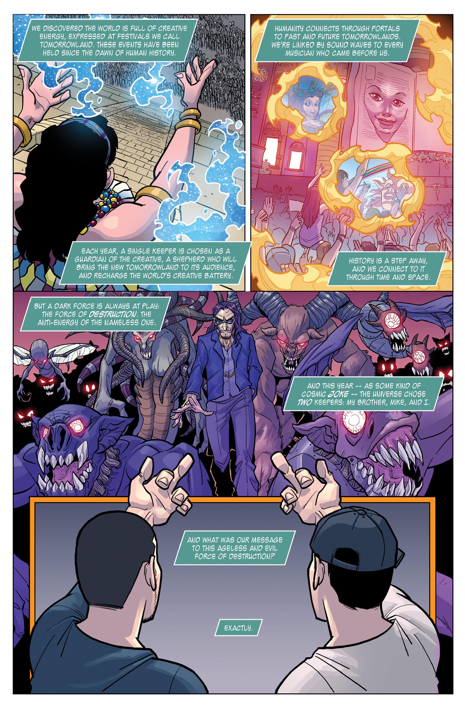 Archie comics archie comics sneak peek of the week major spoilers - Tomorrowland_3_cover_color_130401 1 Tomorrow3_sample2web Tomorrow3_sample3web Tomorrow3_sample4web Tomorrow3_sampleweb Via Titan Comics