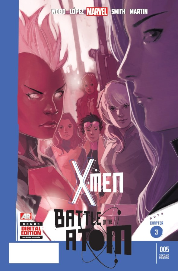 X-Men_5_Second_Printing_Variant