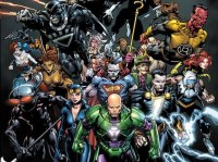 DC Comics, villains, Owlman, Earth 3, Batman, Superman, Flash, Wonder Woman, Forever Evil, Harvey Dent