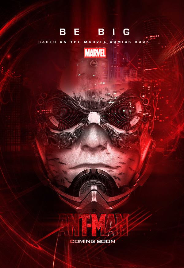 MOVIES Fan Made Ant Man And Black Panther Posters Major