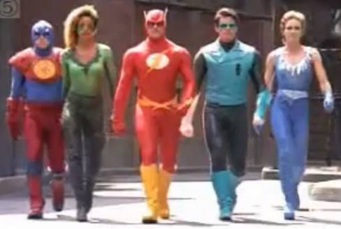 Justice-League-of-America-Pilot-Fire-Ice-The-Green-Lantern-The-Flash-The-Atom