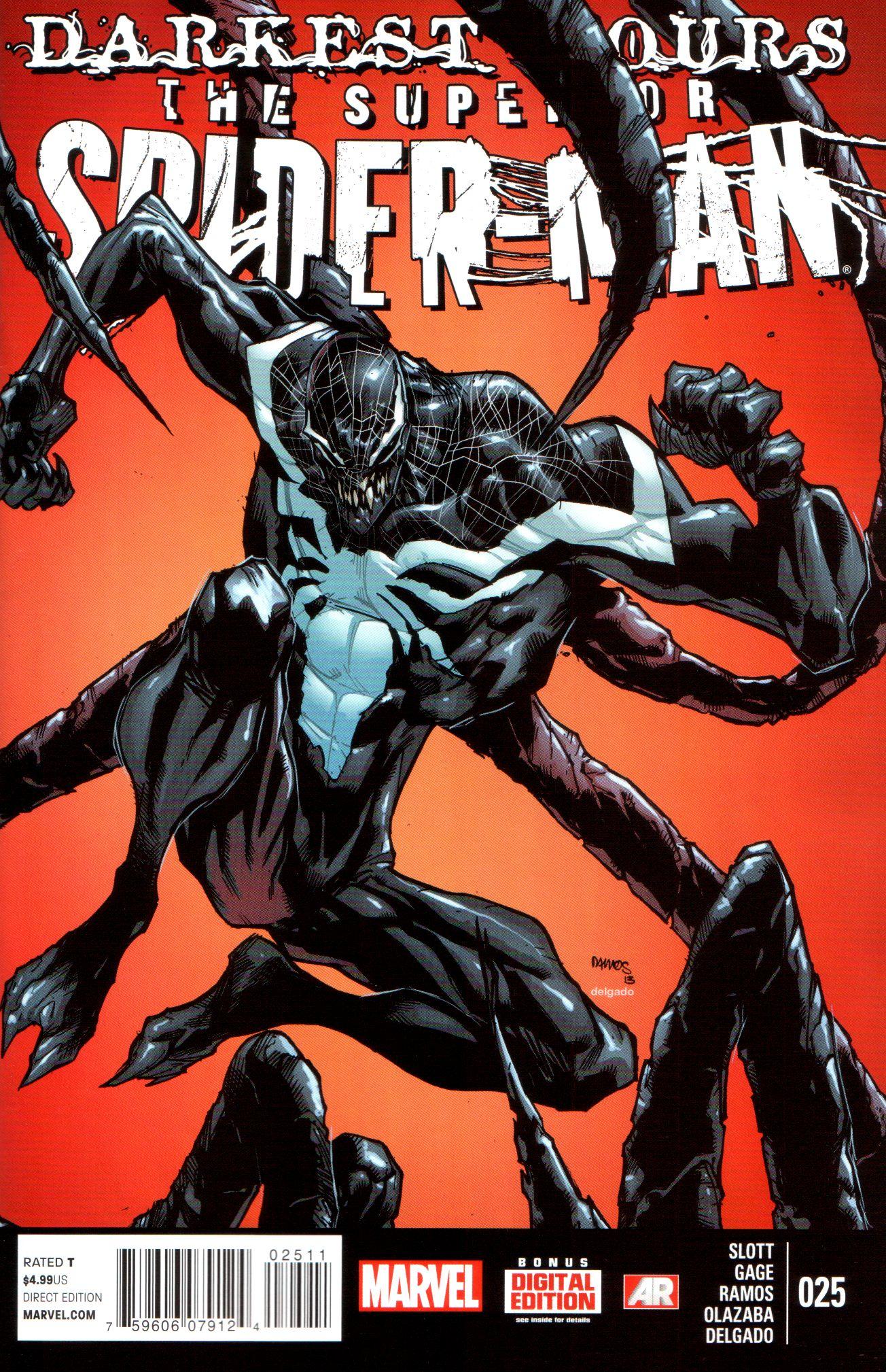 superior spiderman 25 review major spoilers